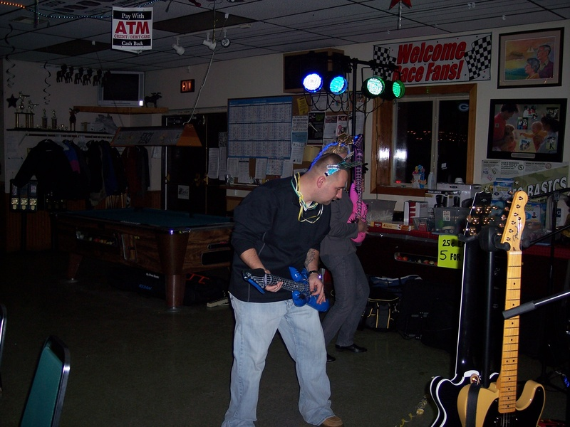He also likes the blowup guitar